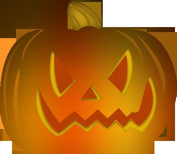 Au chaudron baveur halloween images r alis es par le - Citrouille halloween qui fait peur ...