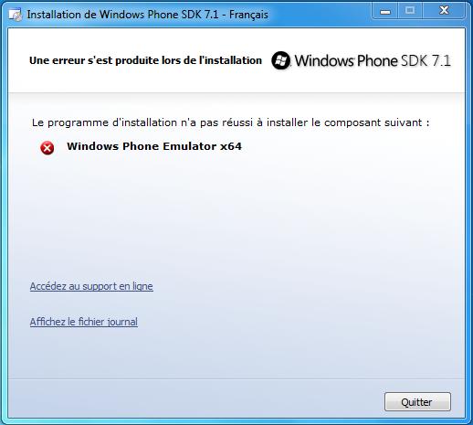 [INFO] Windows Phone Device Manager disponible ! - Page 22 Screenshot_error_emulator1