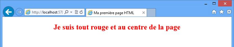 Du HTML avec du style