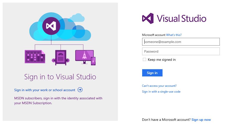 Connexion avec votre compte Microsoft