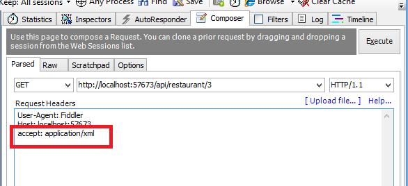Requête REST pour obtenir du XML