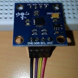 Câblage MPU-6050 - GY-52