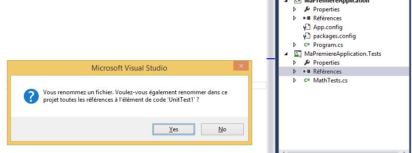 Renommer une classe depuis Visual Studio