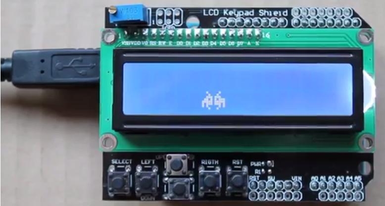 Arduino Space Invaders by Eskimon