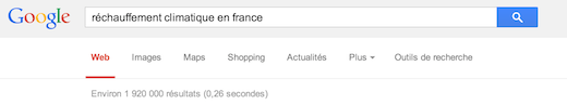 Exemple Google a