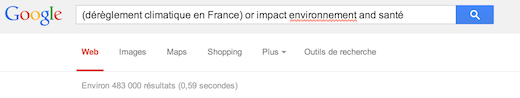 Exemple Google e