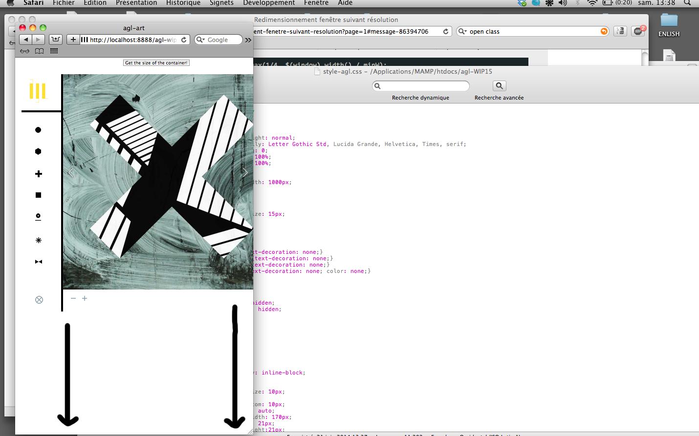 Redimensionnement fen tre suivant r solution je n 39 arrive for Javascript fenetre