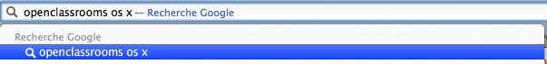 La barre d'adresse : une barre de recherche