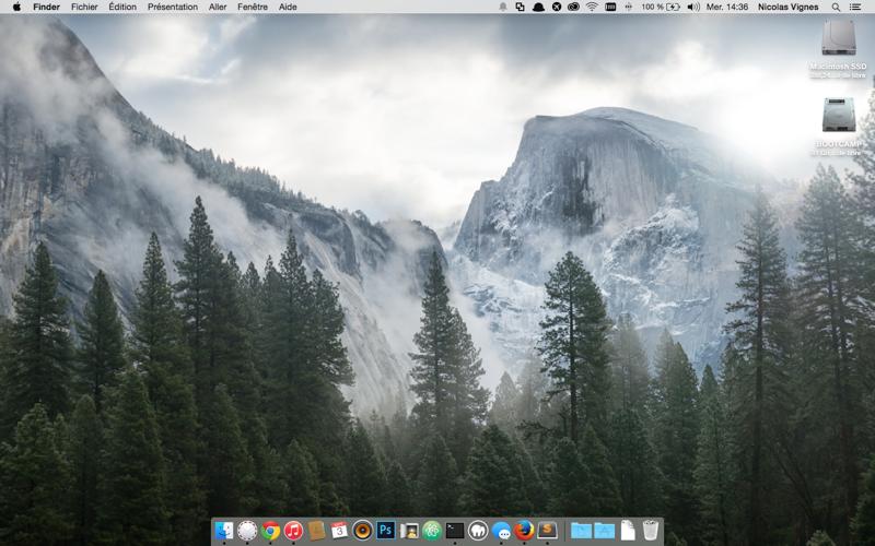 Le Bureau d'OS X