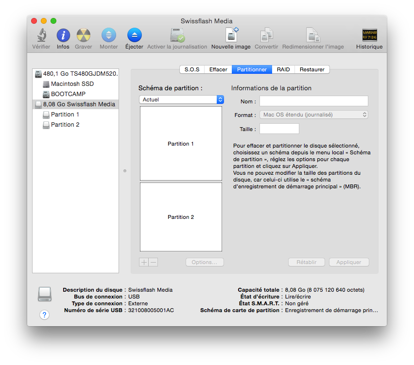 Reinstaller un MacBook à neuf : patientez…