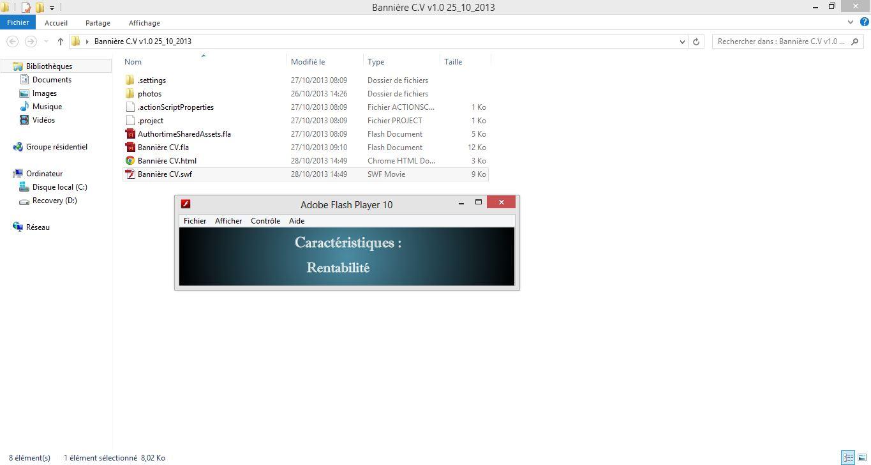 r u00e9solu  banni u00e8re flash ne s u0026 39 affiche pas sur navigateur