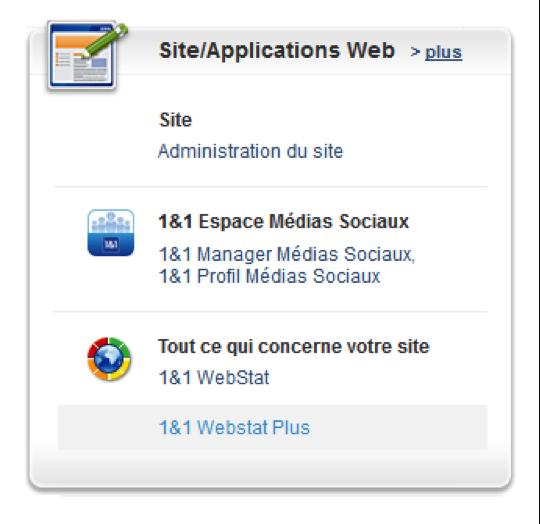 Lancer l'outil WebStat depuis votre Espace Client