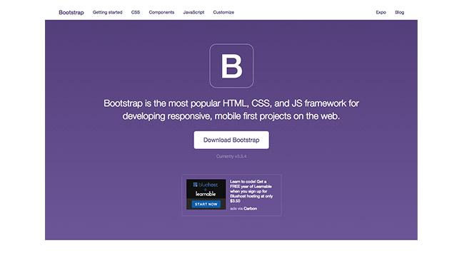Le site de Bootstrap