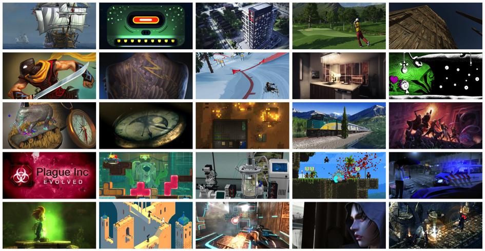 Des jeux vidéos réalisés avec Unity