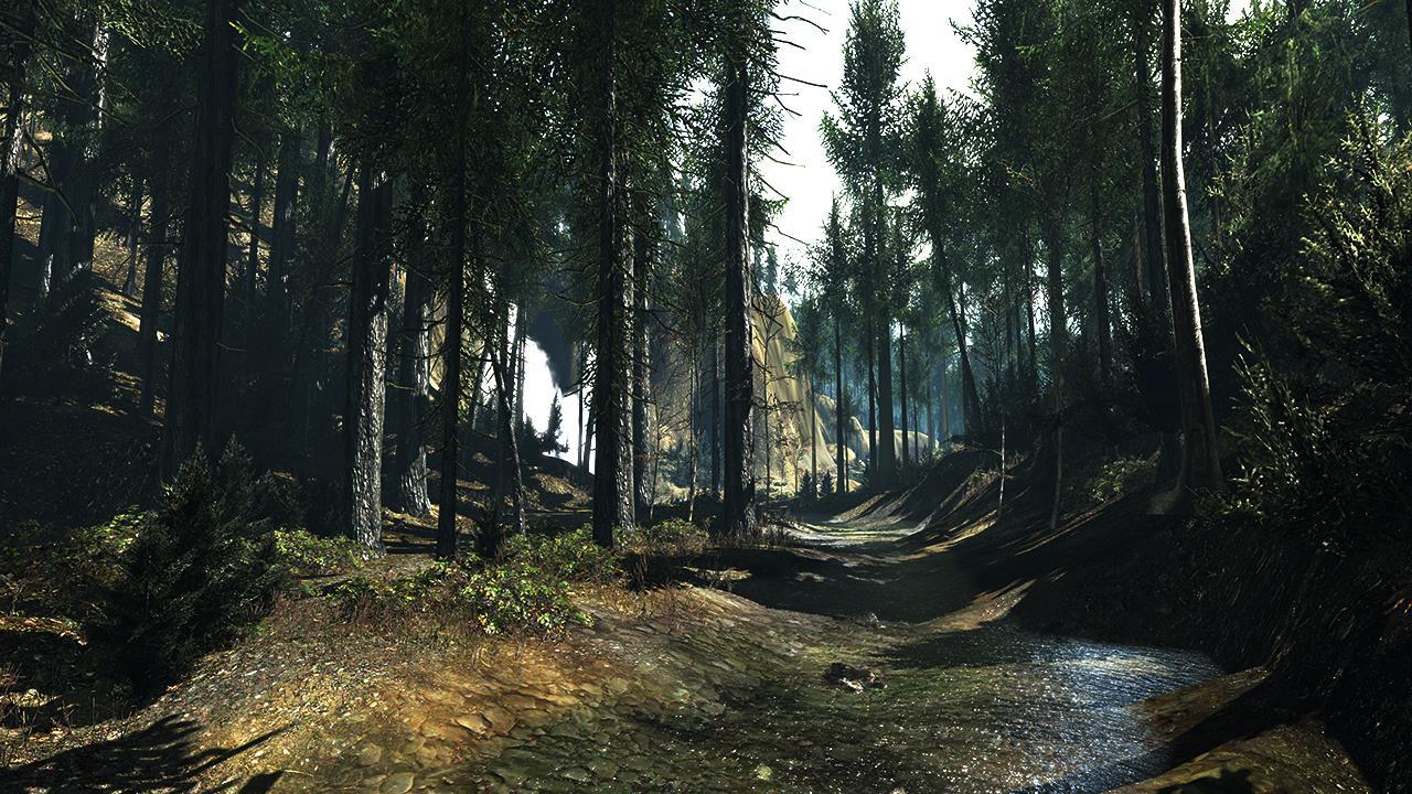 Développé par le studio Crytek, l'un des moteurs les plus puissants.