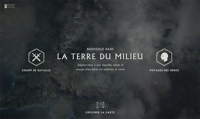 Une très belle démonstration visuelle avec le site du Hobbit