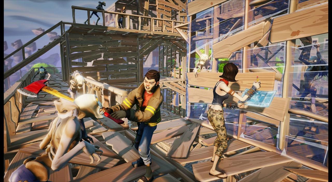 Fortnite est développé par Epic Games