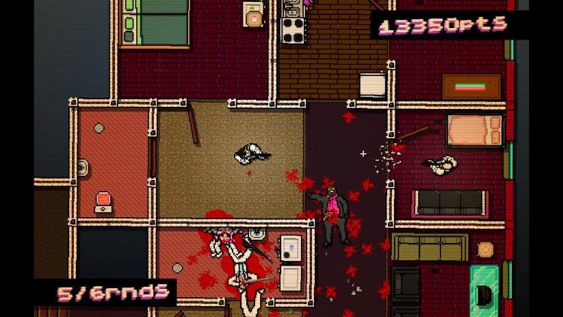 Hotline Miami est un jeu développé par une petite équipe indépendante.