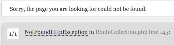 L'erreur 404