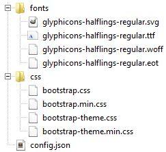 Les fichiers générés