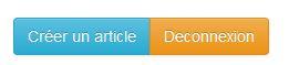 Les boutons pour un utilisateur de base