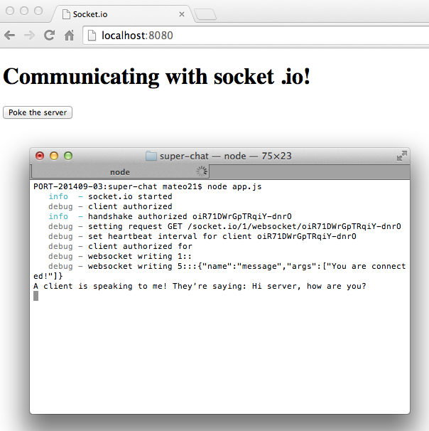 Socket io: let's go to real time! - Ultra fast applications using