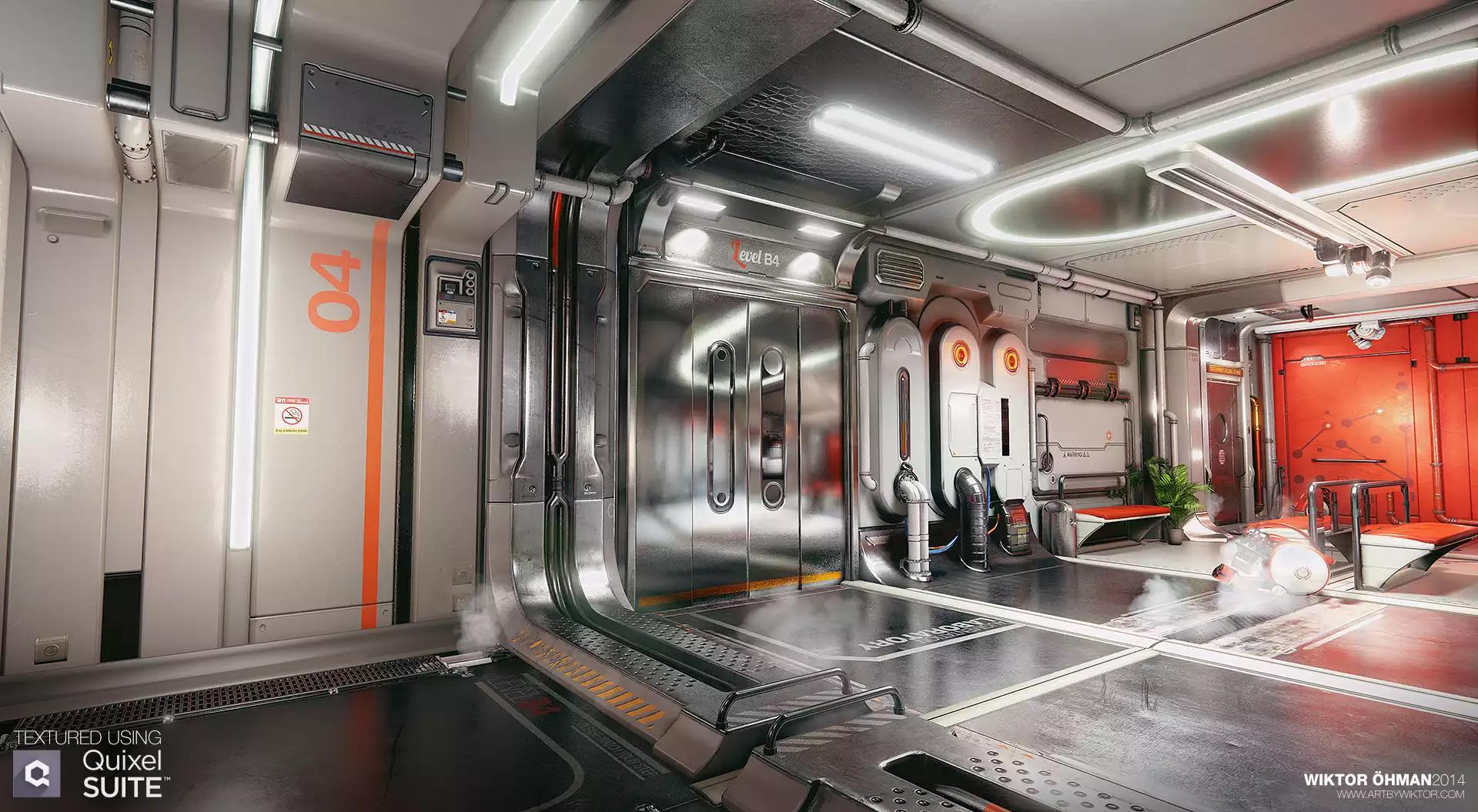 Deus Ex Environement développé par Wiktor Ohman