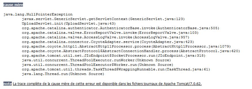 Server Tomcat - Upload d'image par StanOnix - OpenClassrooms
