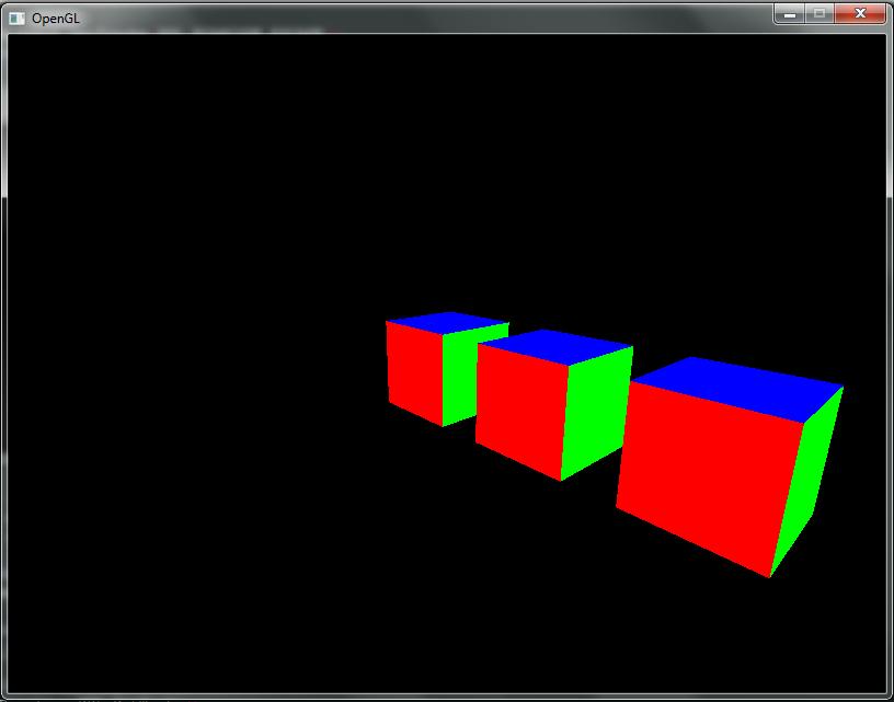 Résolu] OpenGL - Affichage de plusieurs cubes [cours] par