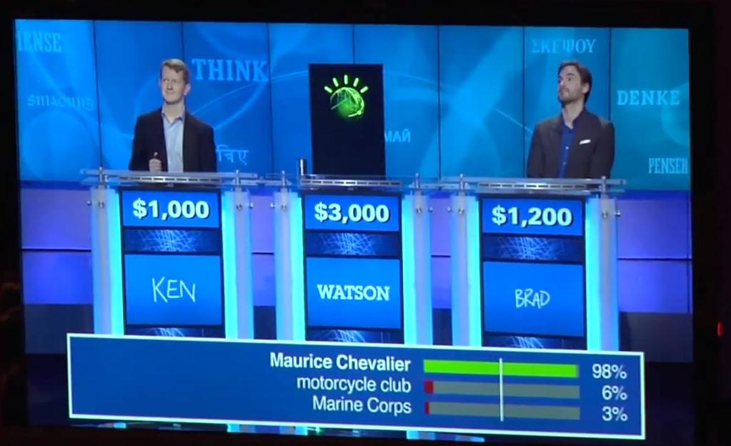 Watson dans Jeopardy